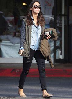 Megan Fox - casual street style