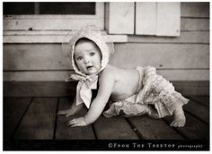 Love this baby photo.  So adorable!