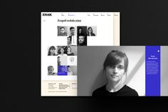 "Magazine ""Znak"" / website on Behance"