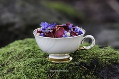 DIY a potpourri with wild flowers Potpourri, Finland, Wild Flowers, Tea Cups, Tableware, Diy, Dinnerware, Bricolage, Bowl Fillers