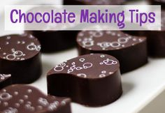Chocolate Making Tips Tutorial. Learn how to work with chocolate and confectionery coating, make modeling chocolate, and troubleshoot problems.