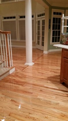 Red oak hardwood with weathered oak stain minwax and for Natural red oak floors