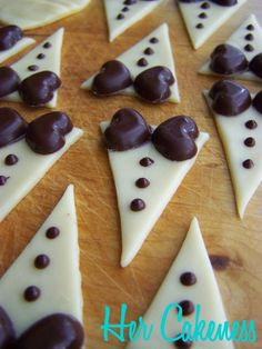 Bride and Groom cupcakes tutorial