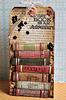 Book Tag - Like this tag will make it a bit longer to use for bookmarks | inspired By Vicky (Clips-n-cuts)