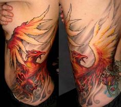 The tattoo of the Phoenix is one of the most fantastic to work with…