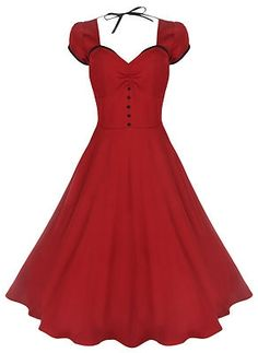 $69 Plus Size Pin Up Dresses! S-4X FREE US SHIPPING!