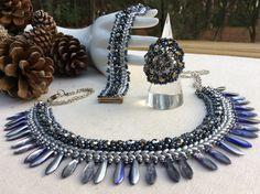 Pulseras con colgantes - 84. MELI  ( cristal Preciosa ) - hecho a mano por DelikaElite en DaWanda