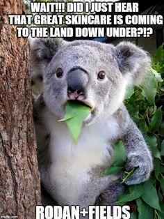 We're launching in Australia next fall! #rodanandfields
