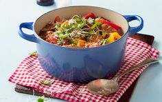 Ratatouille is a traditional French stewed vegetable dish originating from Nice in the south of France. Serve hot or cold as a side dish or a vegetarian main course. My Recipes, Baking Recipes, Dog Food Recipes, Vegetarian Main Course, Recipe Search, Vegetable Dishes, Cooking Classes, Ratatouille, Stew