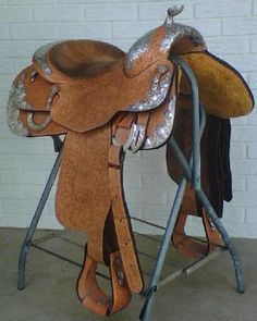 blue ribbon show saddle | 08 Blue Ribbon Show Saddle | Equine Auction Exchange | Horse Tack for ...