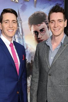 Harry Potter Star Offers a Solution to This Story Plot Hole Mundo Harry Potter, Harry Potter Fandom, Harry Potter Hogwarts, Fred Y George Weasley, Oliver Phelps, Phelps Twins, Weasley Twins, Movies Showing, Future Husband