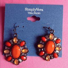 Earrings Just a little bling . Vera Wang Jewelry Earrings