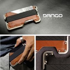 The Dango Dapper and Tactical Wallets are designed with an edge!  We blended style, utility and quality into one sleek everyday carry.