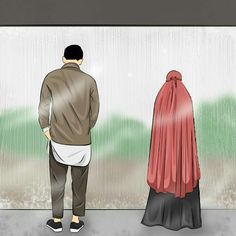 S kut-u Lisan Selameti nsan Couple Sketch, Couple Art, Couple Quotes, Cute Muslim Couples, Cute Couples, Muslim Photos, Anime Love Story, Hijab Drawing, Islam Marriage