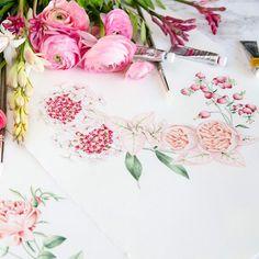 From our instagram @savethedateprojects Cuando @bodasdecuento te llama para diseñar la papelería más romántica del mundo el resultado es la dulce invitación de Jair & Pepe . . Podéis pasaros por el blog para ver todo el proceso de diseño .