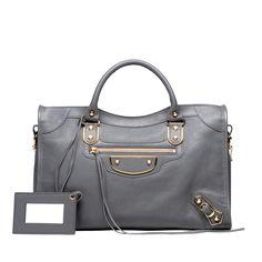 Balenciaga Metallic Edge Handtasche damen farbe Gris Acier - Jetzt die aktuelle Kollektion entdecken und online Für Sie im Offiziellen Online Store bestellen.