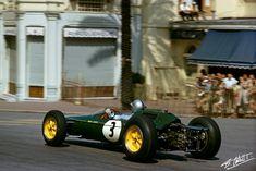 1963 GP Monaco (Jack Brabham) Lotus 25 - Climax
