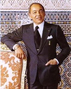 #Style: King Hassan II of #Morocco in a bespoke #FrancescoSmalto suit. #menswear #Paris
