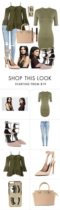"""""""Untitled #22"""" by adriannaemily ❤ liked on Polyvore featuring PacSun, WearAll, Kendall + Kylie, H&M, Miss Selfridge, Tom Ford, Chiara Ferragni, Michael Kors, GetTheLook and celebritysiblings"""
