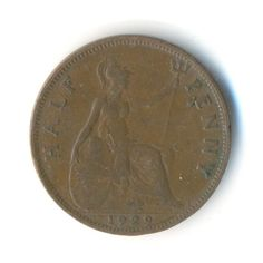 Vintage Coin George V Half Penny 1929 Code: by JMCVintagecards Postage Rates, Postcards For Sale, Coins For Sale, View Image, Coding, Etsy Shop, Stock Photos, Personalized Items, Mall