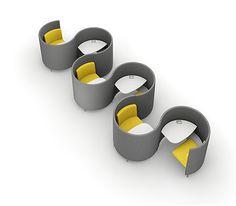 Hoteling Stations   AGATI Furniture - Study Carrels - POD
