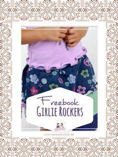"""Freebook Mädchenrock """"Girlie Rockers"""""""
