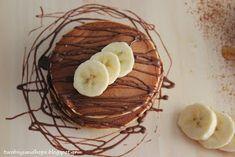 2 boys + Hope: Pancakes μπανάνας με 3 υλικά !!! Waffles, Pudding, Pie, Breakfast, Desserts, Recipes, Blog, Torte, Morning Coffee