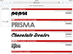 Groovy Fonts