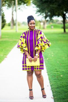 Hello beautiful ladies, Ankara gowns has made us understand the beauty of the Ankara fabrics. Ankara gowns are so beautiful and attractive. These ankara gowns are so sweet and charming. With these gowns, you would look so outstanding and unique. African Fashion Ankara, Latest African Fashion Dresses, African Print Fashion, Africa Fashion, Fashion Prints, Fashion Art, Fashion Outfits, Short African Dresses, African Print Dresses