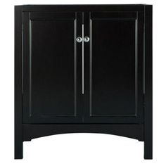 Foremost Haven 30 in. W x 21.625 in. D x 34 in. H Vanity Cabinet Only in Espresso-TREA3022 - The Home Depot