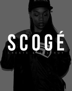 #SCOGE -Create & Destroy- www.scoge.co NYC Luxury Streetwear  Streetstyle  High Street