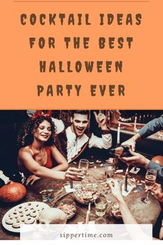 Hosting a Halloween party for adults? Spark your imagination for what to serve with these easy Halloween party cocktail ideas. Easy Halloween Cocktails, Cocktails For Parties, Easy Halloween Food, Halloween Activities For Kids, Halloween Party, Halloween Ideas, Sangria Cocktail, Cocktail Ideas, Wine Cocktails