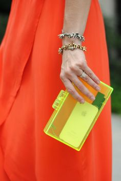Simple and clean. The Moshi iGlaze would be a seamless addition to this look and protect her phone.