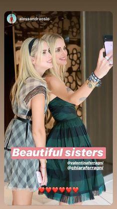 Valentina Ferragni, Sisters, Beautiful, Daughters, Big Sisters
