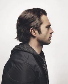 His side profile