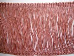 "Designer Luxury 2/"" Organza Ribbon Loop Fringe Upholstery-Drapery Trim By the Yd"