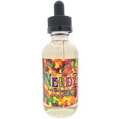 R&D Creations Premium E-Liquid Nerdz - A Mouthwatering burst of tangy citrus fruit and wild berries.70% VG