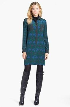 Max Mara #fashion #style #dress silk fariseo