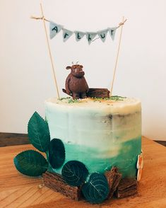 Boys 1st Birthday Party Ideas, 3rd Birthday Cakes, Boy First Birthday, First Birthday Parties, Gruffalo Party, Cakes For Boys, 1st Birthdays, Fancy Cakes, Cake Decorating