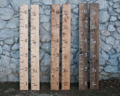 Growth chart, ruler growth chart, wood growth chart, giant ruler, sign, painted, nursery decoration, boy, girl, gift, wooden growth chart by TheTwistedK on Etsy https://www.etsy.com/listing/191415602/growth-chart-ruler-growth-chart-wood