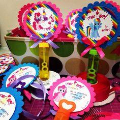 Invitación burbujeros my little pony