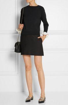 Black skirt and shirt. Nordstrom