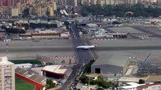Gibraltar's runway!