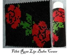 Filet Rose Lip Balm Cover