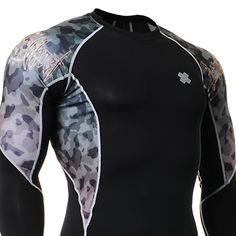 Fixgearmall - #FIXGEAR #Compression Base Layer Long Sleeve #Shirts, model no C2L-B45, Skin Tights and Advanced Performance Fabric. #mma #workout #crossfit #gym #sportswear #menswear #mensfashion #menstyle #weighttraining #musclemania #bodybuilding #bodybuilder #buildyourbody #muscle #strength #yoga
