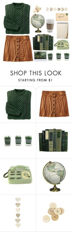 """Untitled #175"" by shiningnvak ❤ liked on Polyvore featuring American Eagle Outfitters, CO, National Geographic Home and C.R.A.F.T."
