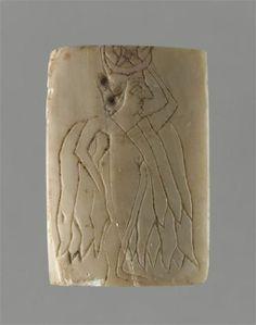 To the goddess Ishtar 2500 - 2400 BC. Mari , Temple of Ishtar   Louvre Museum