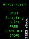 Bash Script Tutorial & Free BASH scripting guide