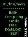 Bash Script Tutorial & Free BASH scripting guide
