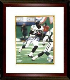9d04325a77f Fred Taylor Autographed Photo - 8x10 Custom Framed - Autographed NFL Photos  by Sports Memorabilia.